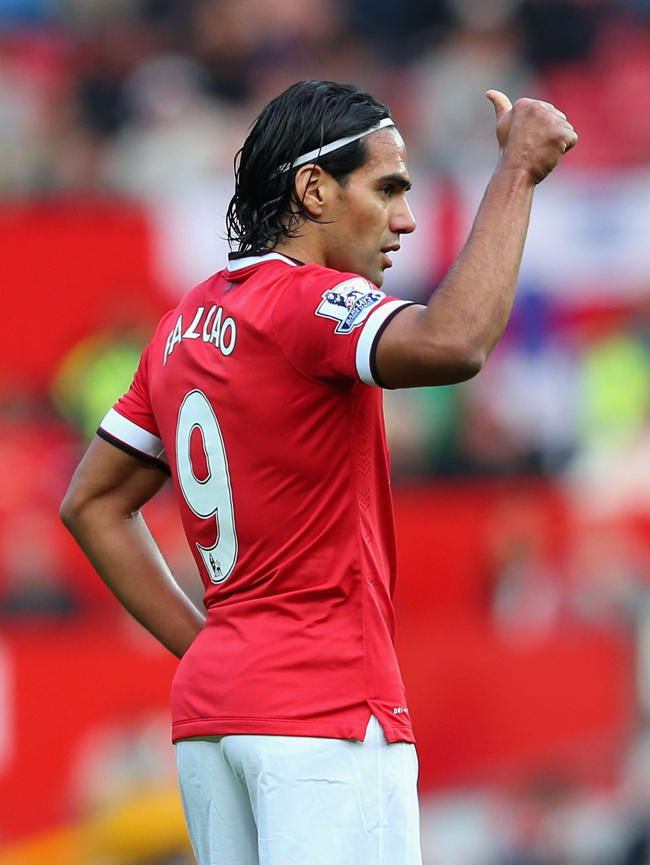 Radamel Falcao se sintió muy a gusto en debut ton Manchester United. Foto: Getty Images
