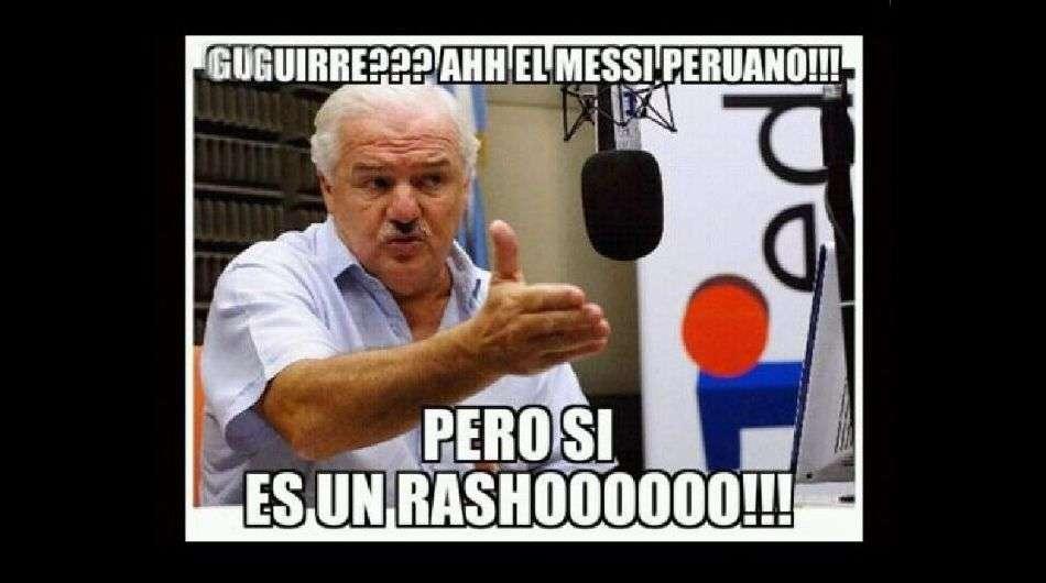 Wilmer Aguirre es víctima de los internautas tras su actuación ante Real Garcilaso. Foto: Redes Sociales