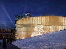 Biblioteca de Oslo, a inaugurarse en 2018. Foto: BBC Mundo/Copyright
