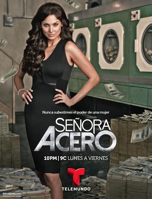 Blanca Soto es 'Señora Acero' Foto: Telemundo