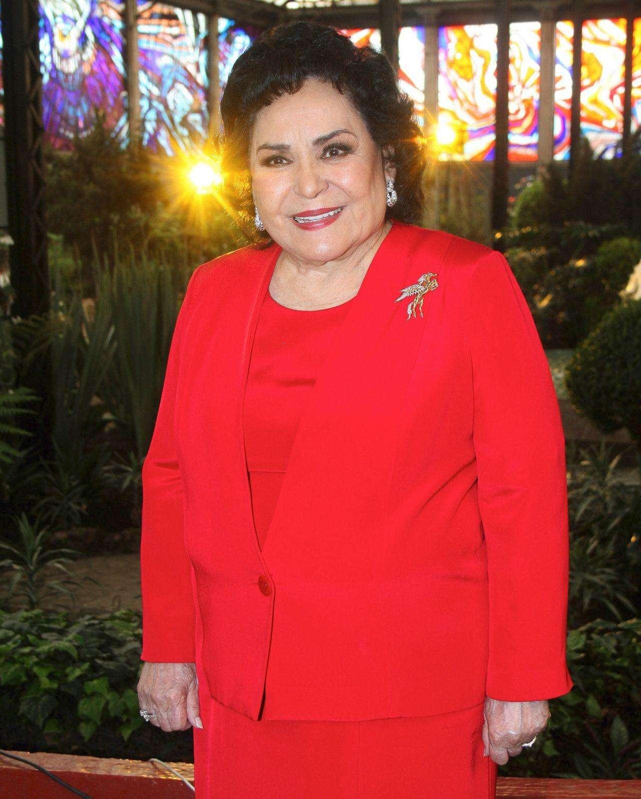 Carmen Salinas recibirá homenaje por su trayectoria Foto: Agencia Mezcalent