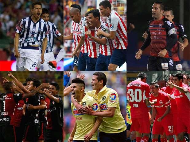 Pachuca, Chivas, Atlante, Atlas, América y Toluca son los equipos más antiguos en la historia del futbol mexicano. Foto: Mexsport/Especial