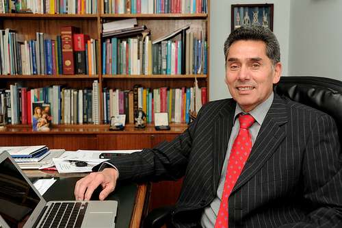 Fernando Castillo, el nuevo presidente de UCV-TV. Foto: Gentileza.