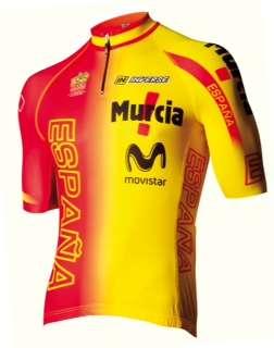 La camiseta de la Selección Española de ciclismo Foto: Telefonica