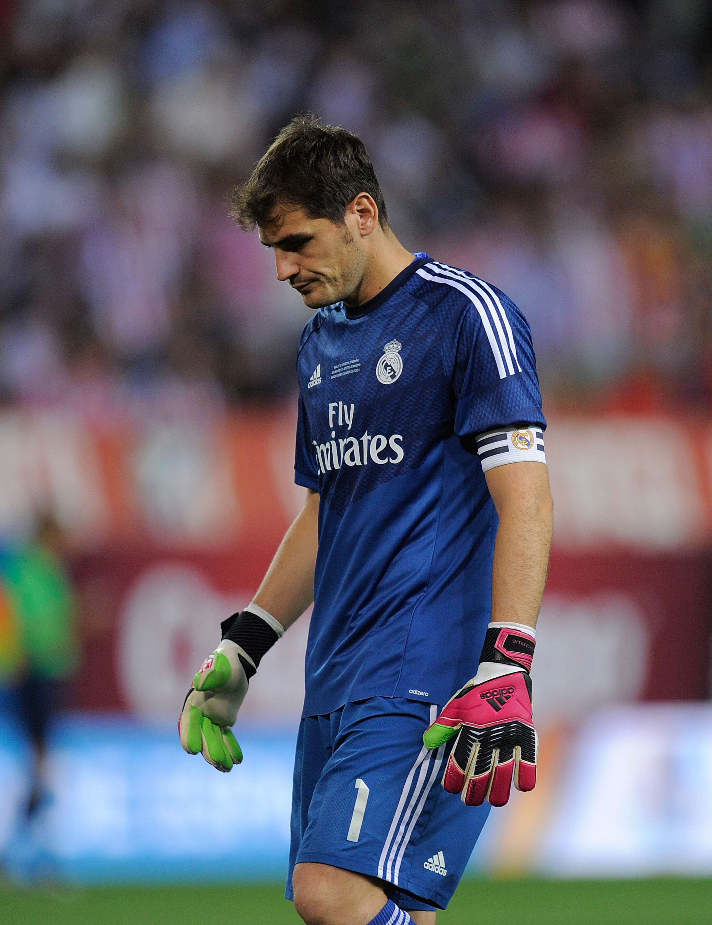 Iker Casillas fue abucheado. Foto: Getty Images