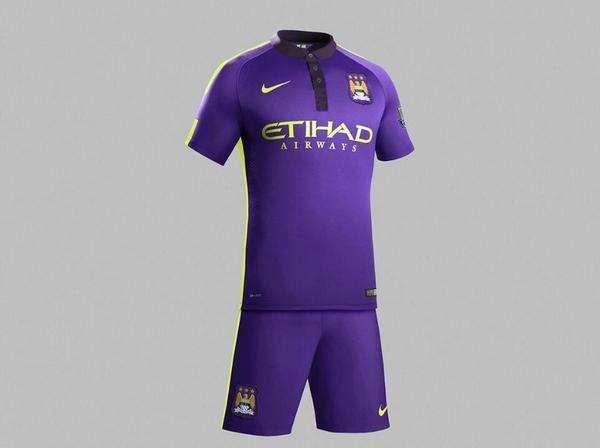 El uniforme de visita podrían estrenarlo ante el Bayern Múnich. Foto: Twitter Manchester City