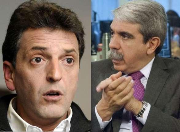 Aníbal Fernández volvió a pegarle a Massa Foto: Web