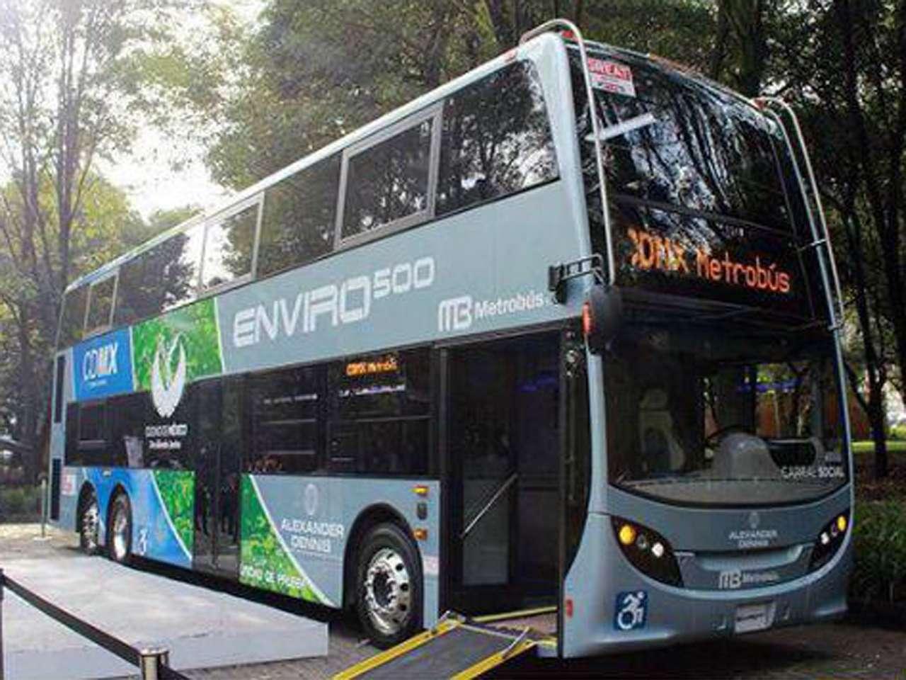 Para el periodo de prueba, estos vehículos recorrerán la ruta 4 del Metrobús, de Buenavista a Sam Lázaro Foto: GDF