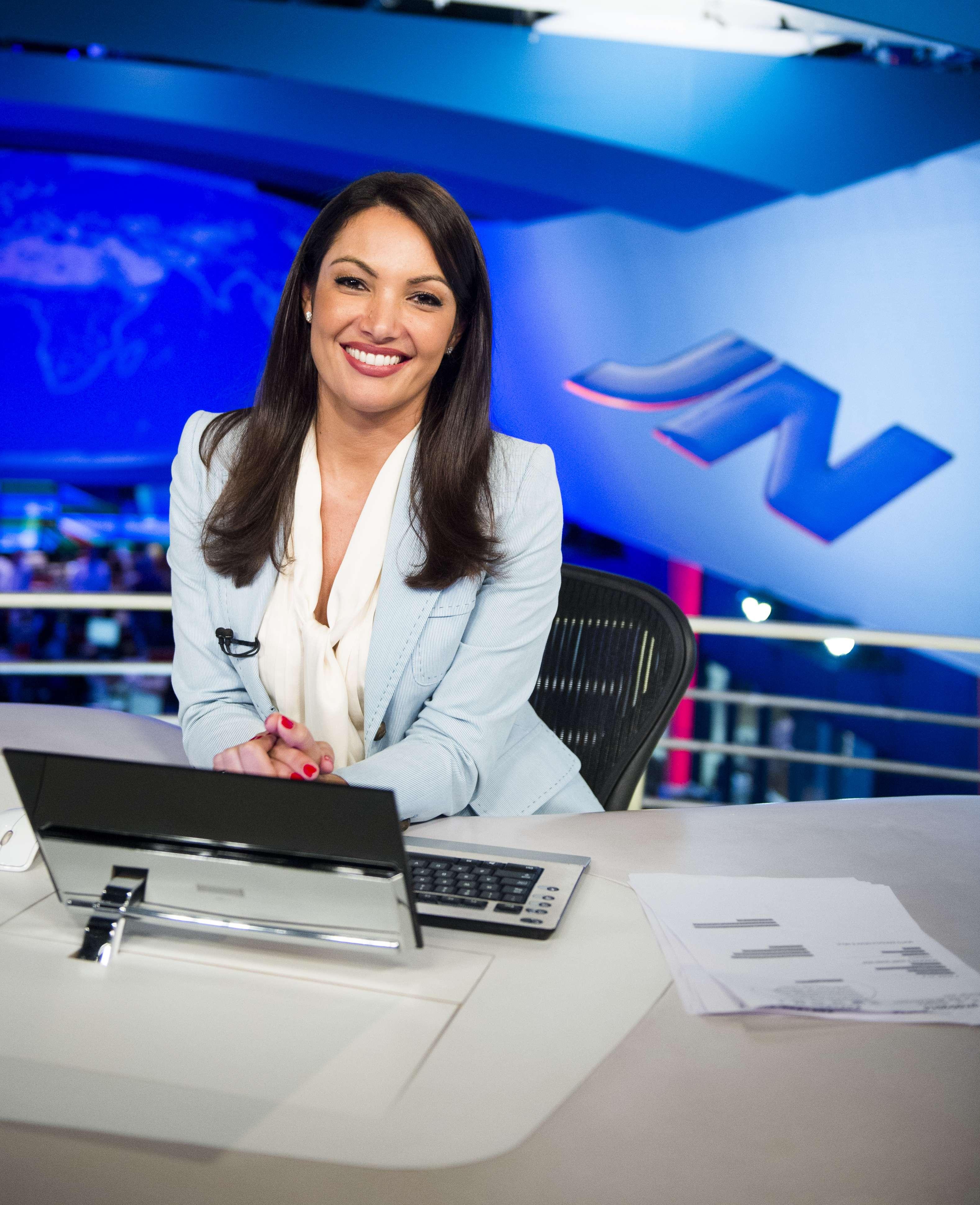 Patrícia Poeta vai seguir um projeto de entretenimento Foto: João Miguel Júnior/TV Globo/Divulgação