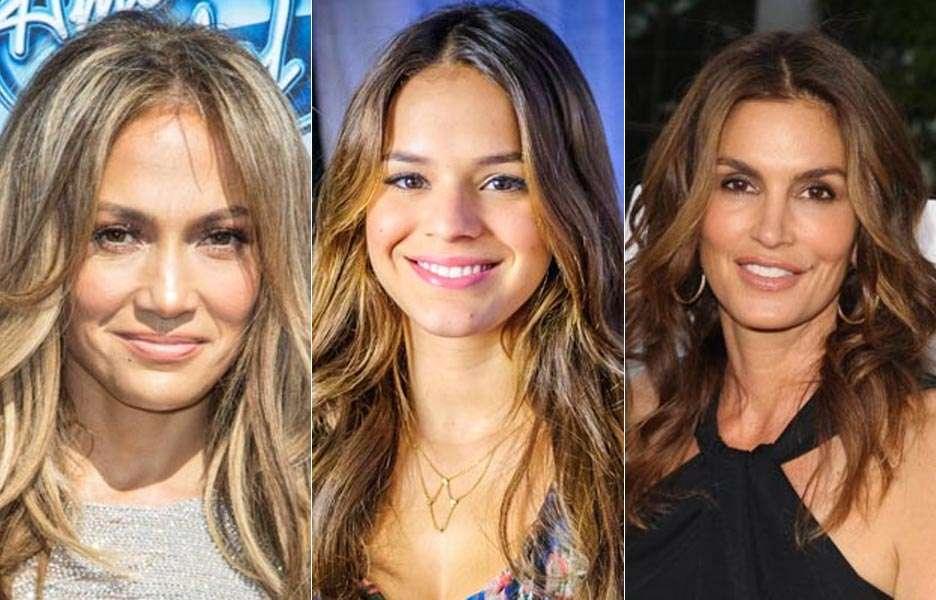 Vote no duelo das famosas quem tem pela jovem x pele madura. Foto: Getty Images/Divulgação
