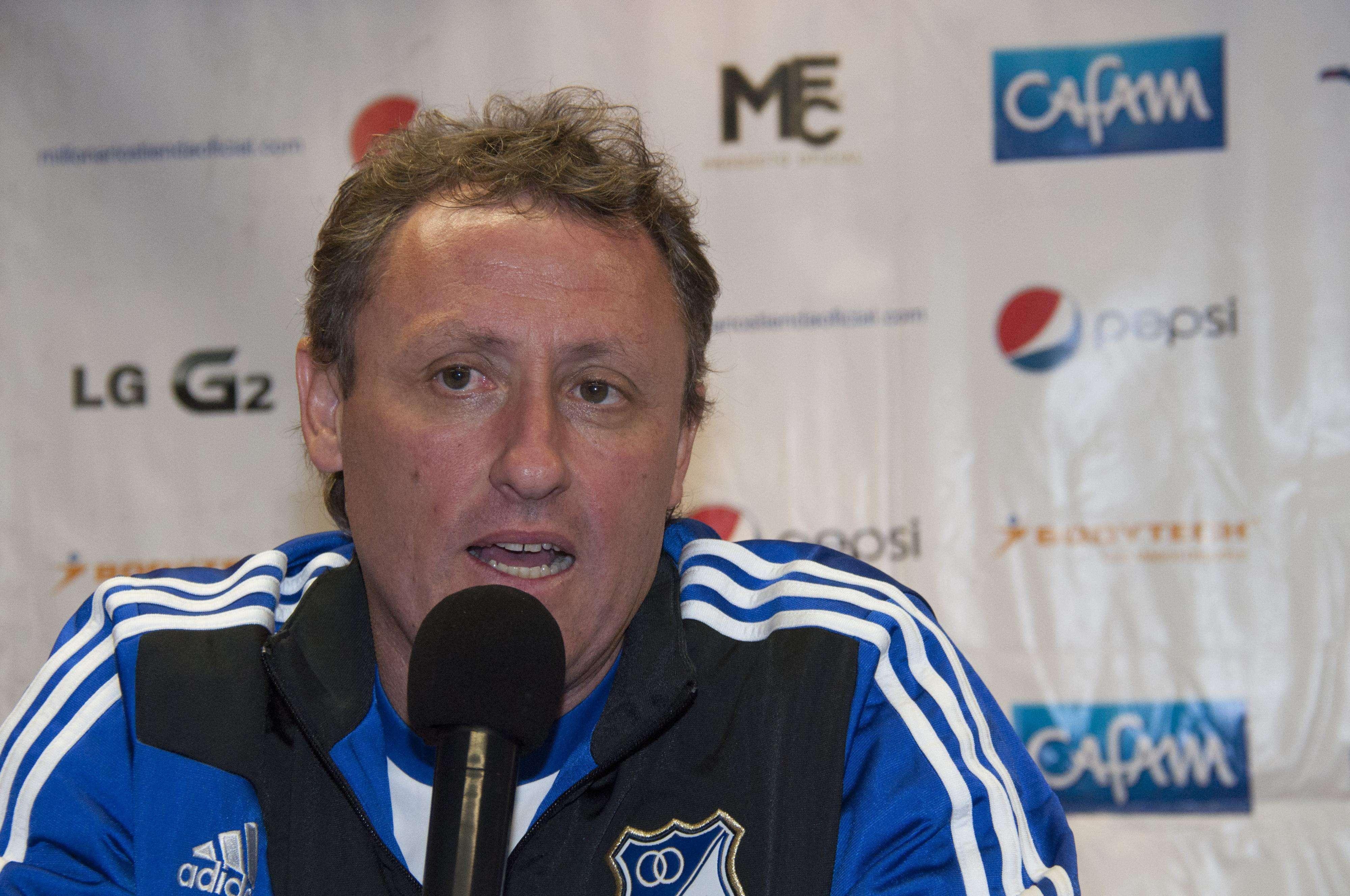 Ricardo Lunari, DT Millonarios Foto: Millonarios FC