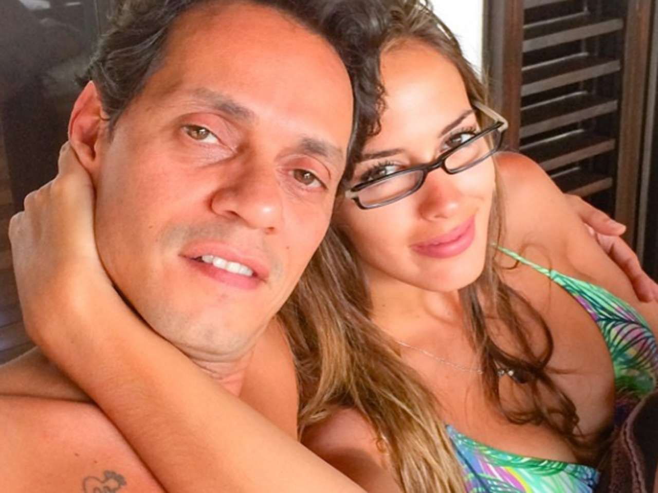 Shannon de Lima y Marc Anthony. Foto: Instagram.com/shadelima