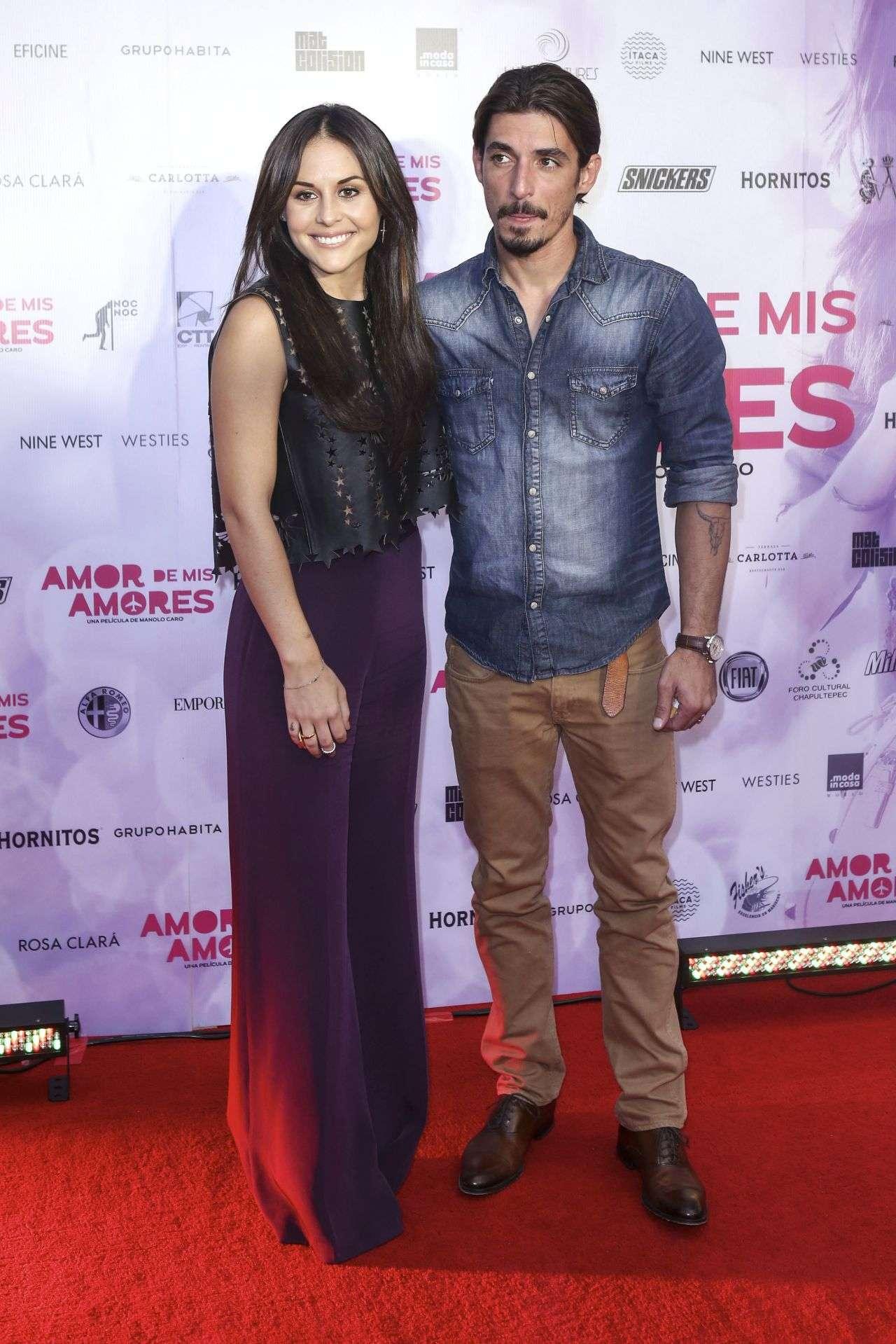 Zuria Vega y Alberto Guerra. Foto: Mezcal