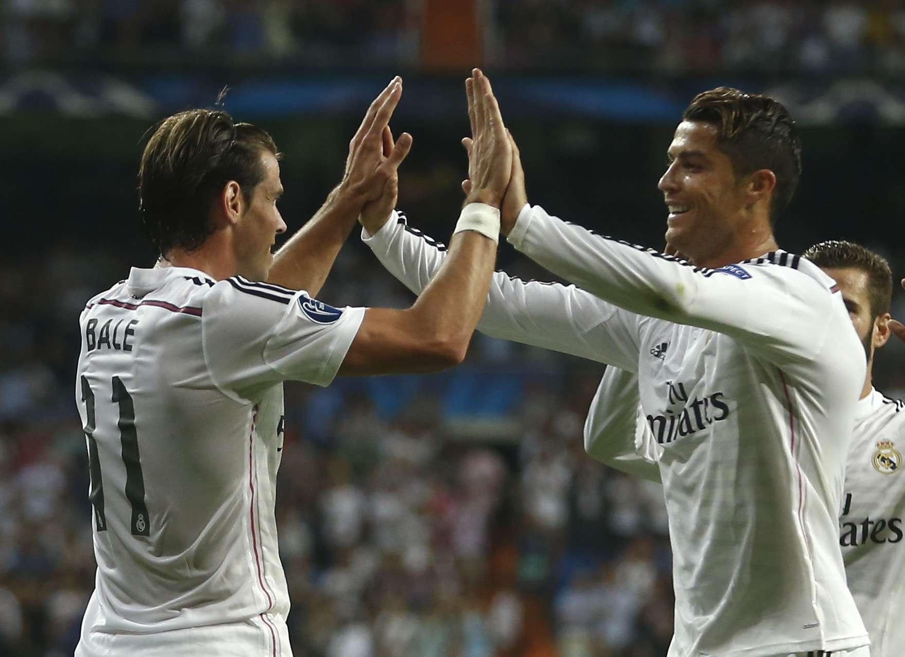 Bale e Cristiano Ronaldo deixaram sua marca Foto: Andres Kudacki/AP