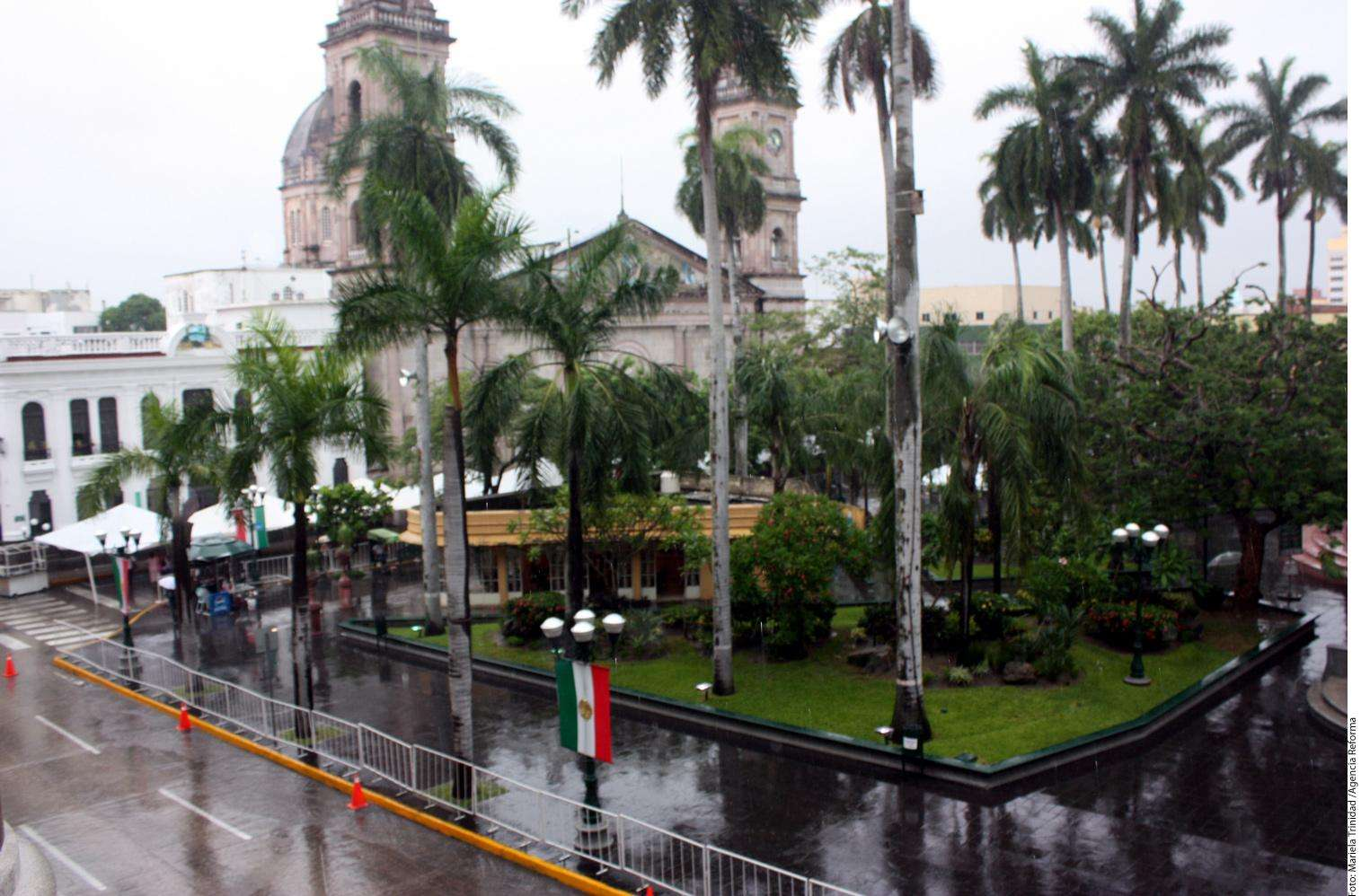Lluvias en Tamaulipas Foto: Agencia Reforma