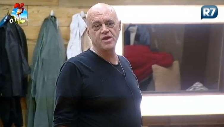 Oscar Maroni revela detalhes de prisão na 'Fazenda' Foto: Record/Reprodução