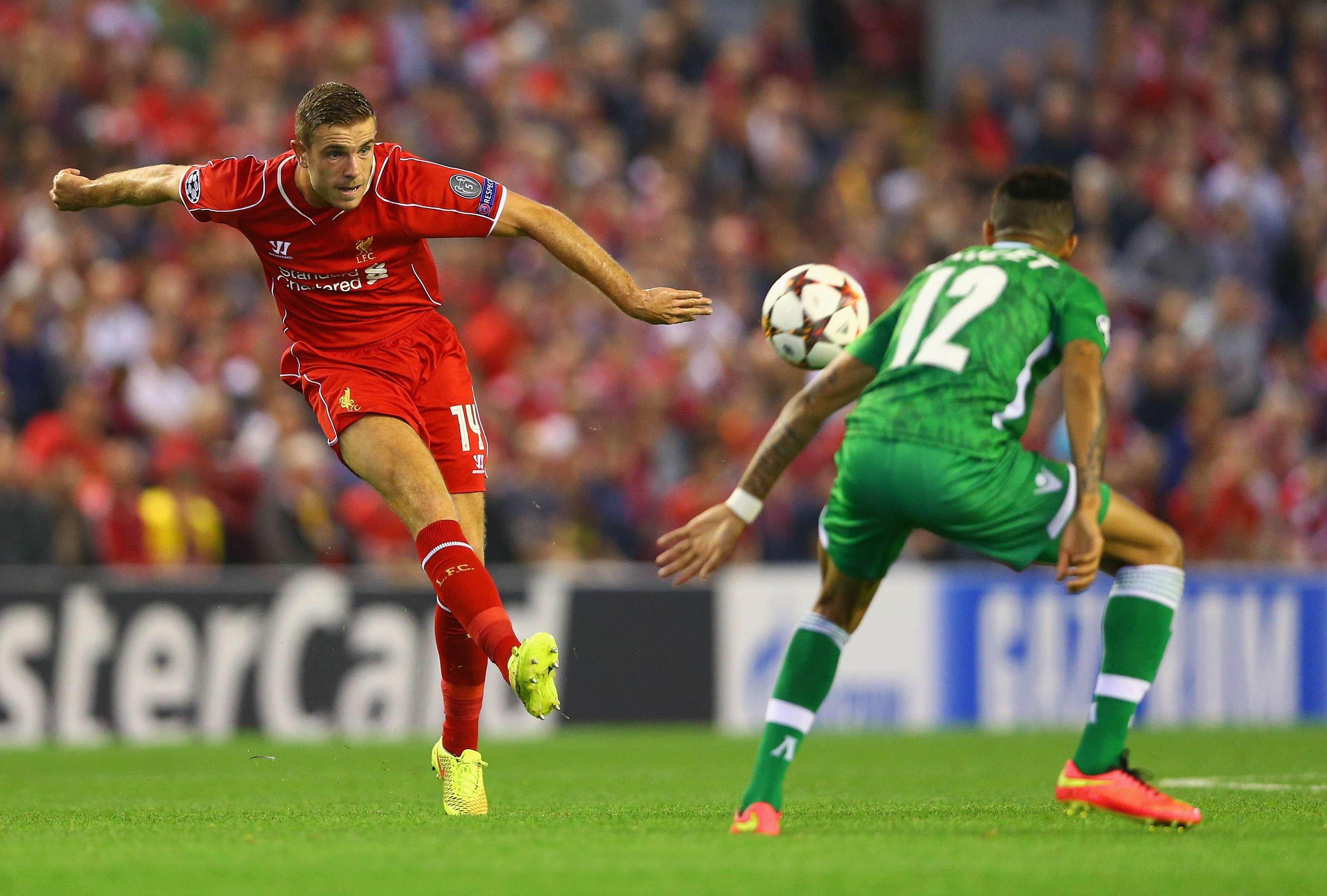 Liverpool sufrió para vencer 2-1 a Ludogorets en el inicio de la Champions League. Balotelli se estrenó como goleador de los Reds y Gerard de Penalti selló la victoria. Dani Abalo marcó por los visitantes Foto: Getty Images