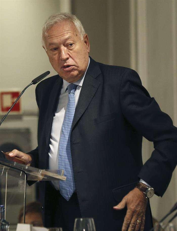 El ministro de Asuntos Exteriores, José Manuel García Margallo. Foto: EFE