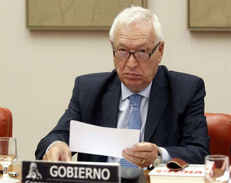El ministro de Exteriores, José Manuel García-Margallo. Foto: Fernando Alvarado/EFE en español