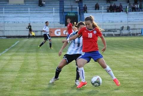 """Las """"Chicas de Rojo"""" jugarán su segundo partido en Cuenca. Foto: Reproducción ANFP"""