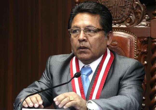 Carlos Ramos se mantendrá en su cargo de magistrado. Foto: Andina