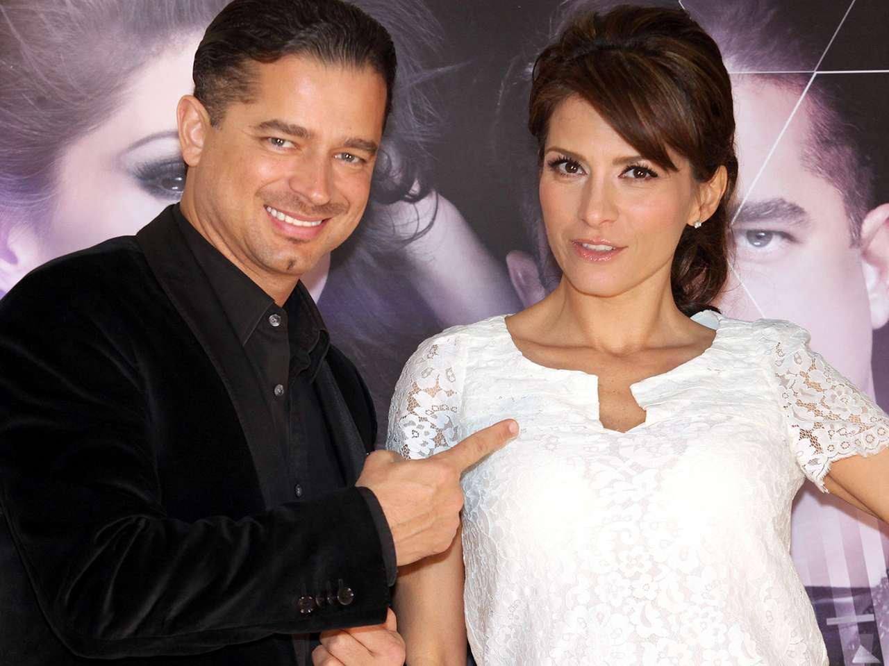 Chacho Gaytán y Mariana García. Foto: Reforma