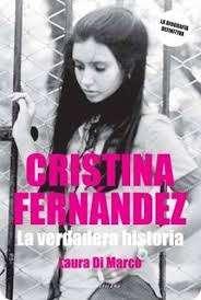Una jovencísima Cristina Fernández ilustra esta lapidaria biografía Foto: Sudamericsna