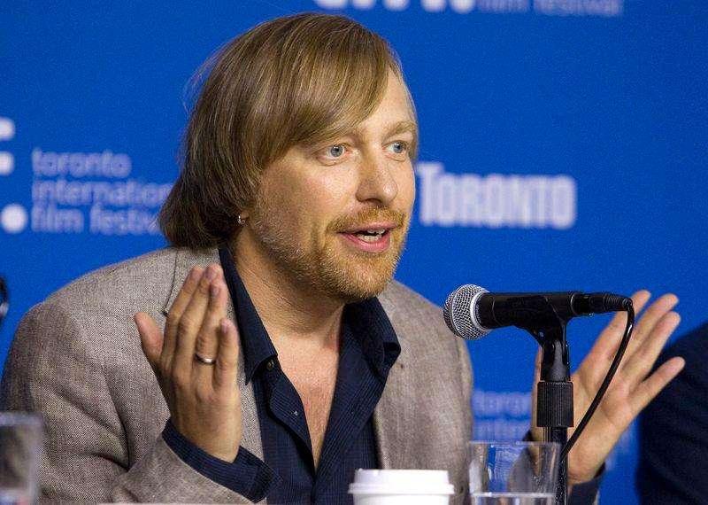 """Diretor Morten Tyldum em coletiva de imprensa para promover seu filme """"The Imitation Game"""", durante o Festival de Cinema de Toronto. 9/09/2014. Foto: Fred Thornhill/Reuters"""