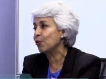 La periodista y locutora Patricia Kelly participó en el primer programa de la Cuarta Temporada de Tejemaneje. Foto: Terra