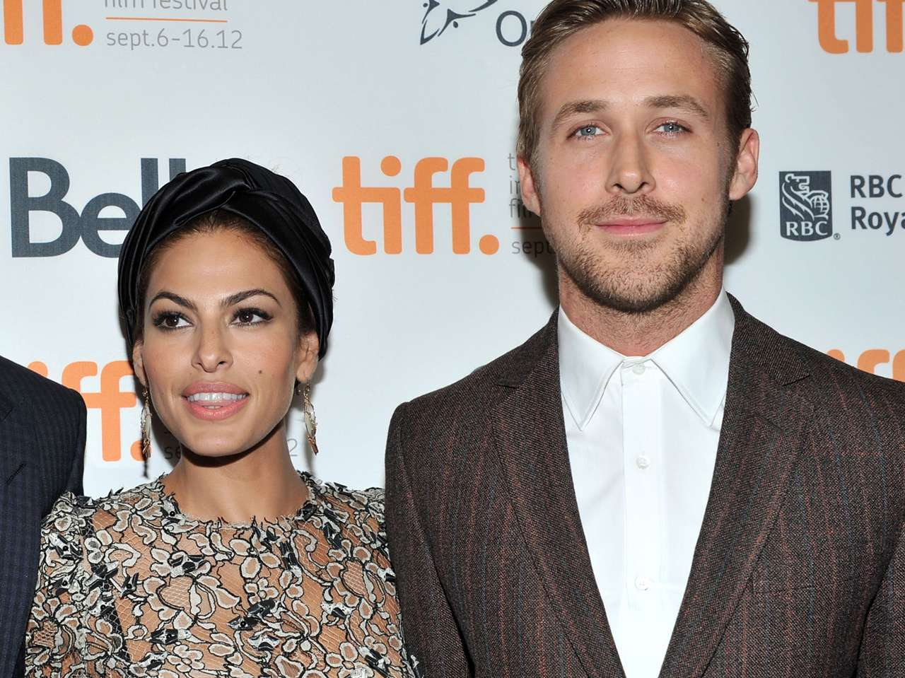Eva Mendes y Ryan Gosling. Foto: Getty Images