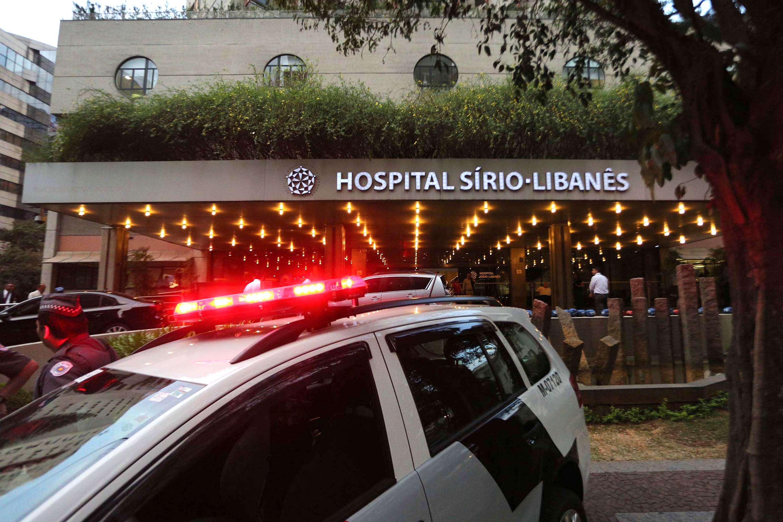 Médico foi socorrido no hospital Sírio-Libanês Foto: Renato S. Cerqueira/Futura Press