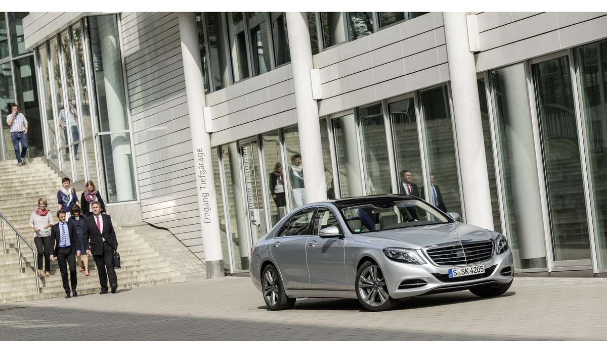 Mercedes-Benz S550 Plug-in Hybrid 2015 Foto: Mercedes-Benz