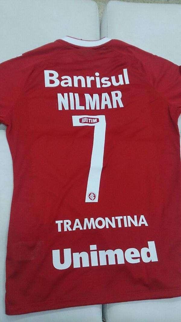 Nilmar será o camisa 7 do Internacional Foto: Twitter/Reprodução
