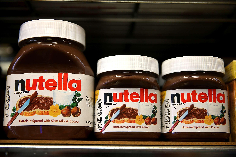 Marca Nutella abriu seus primeiros quiosques no Brasil em shoppings de São Paulo e Guarulhos (SP) Foto: Justin Sullivan/Getty Images