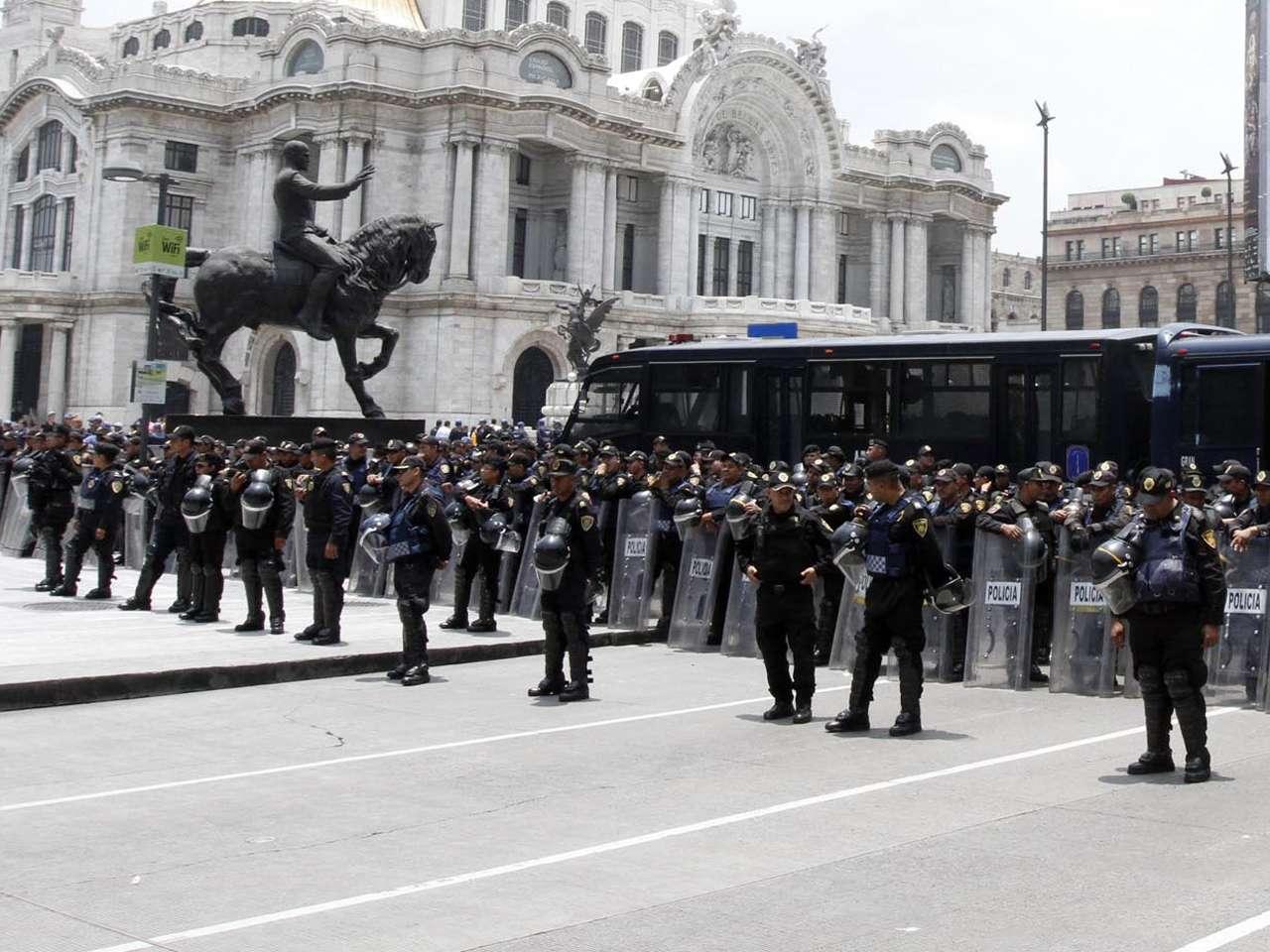 Además de la SSPDF participará el Estado Mayor Presidencial y la Policía Federal Foto: Notimex /archivo