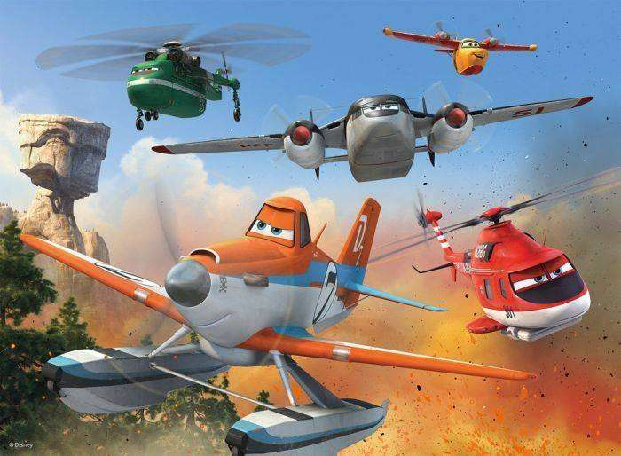 Imagen de 'Planes: Fire & Rescue'. Foto: Disney's Planes Fire & Rescue/Facebook