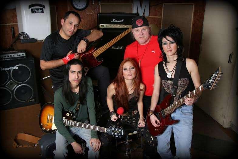 La agrupación R.E.D. (Rock Every Day) Foto: Difusión