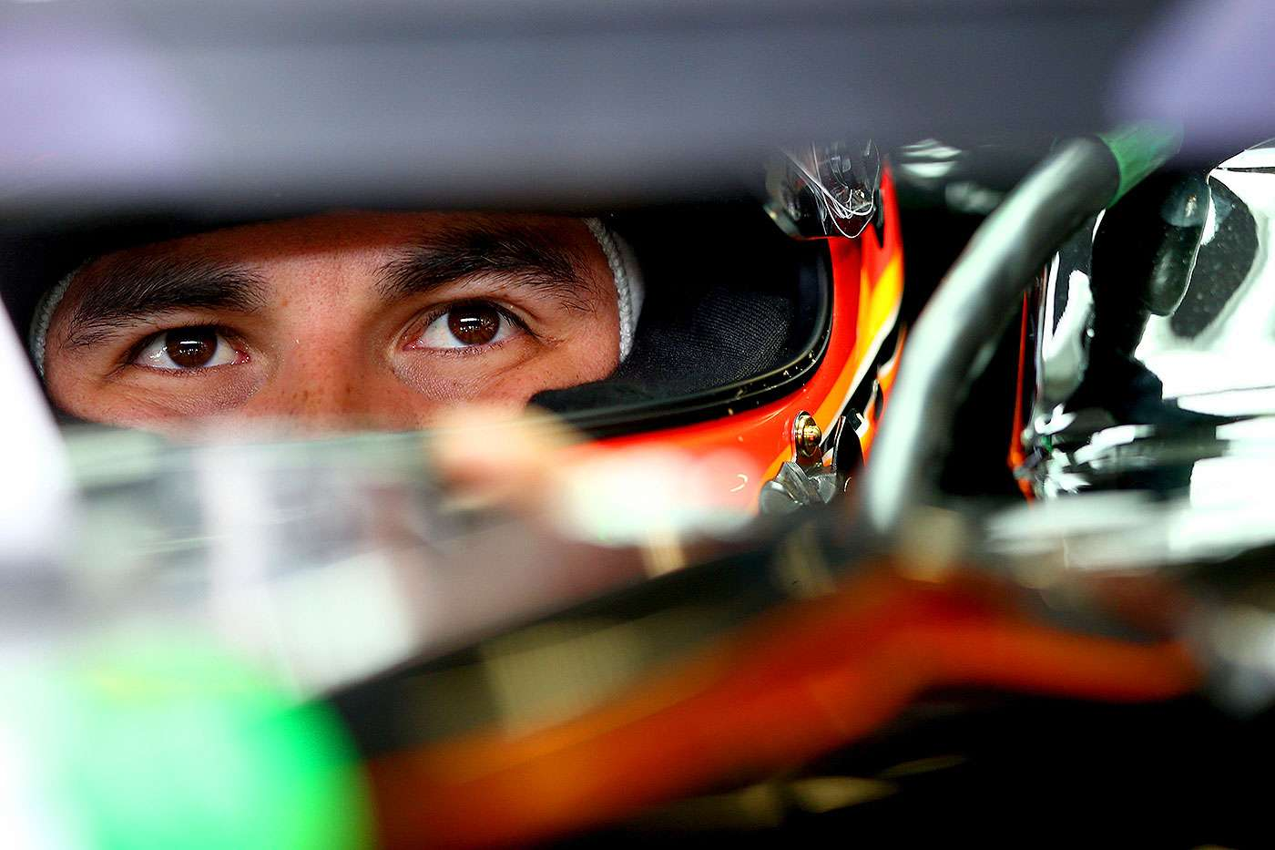 Sergio Pérez, piloto mexicano de la escudería Force India de Fórmula Uno. Foto: Getty Images