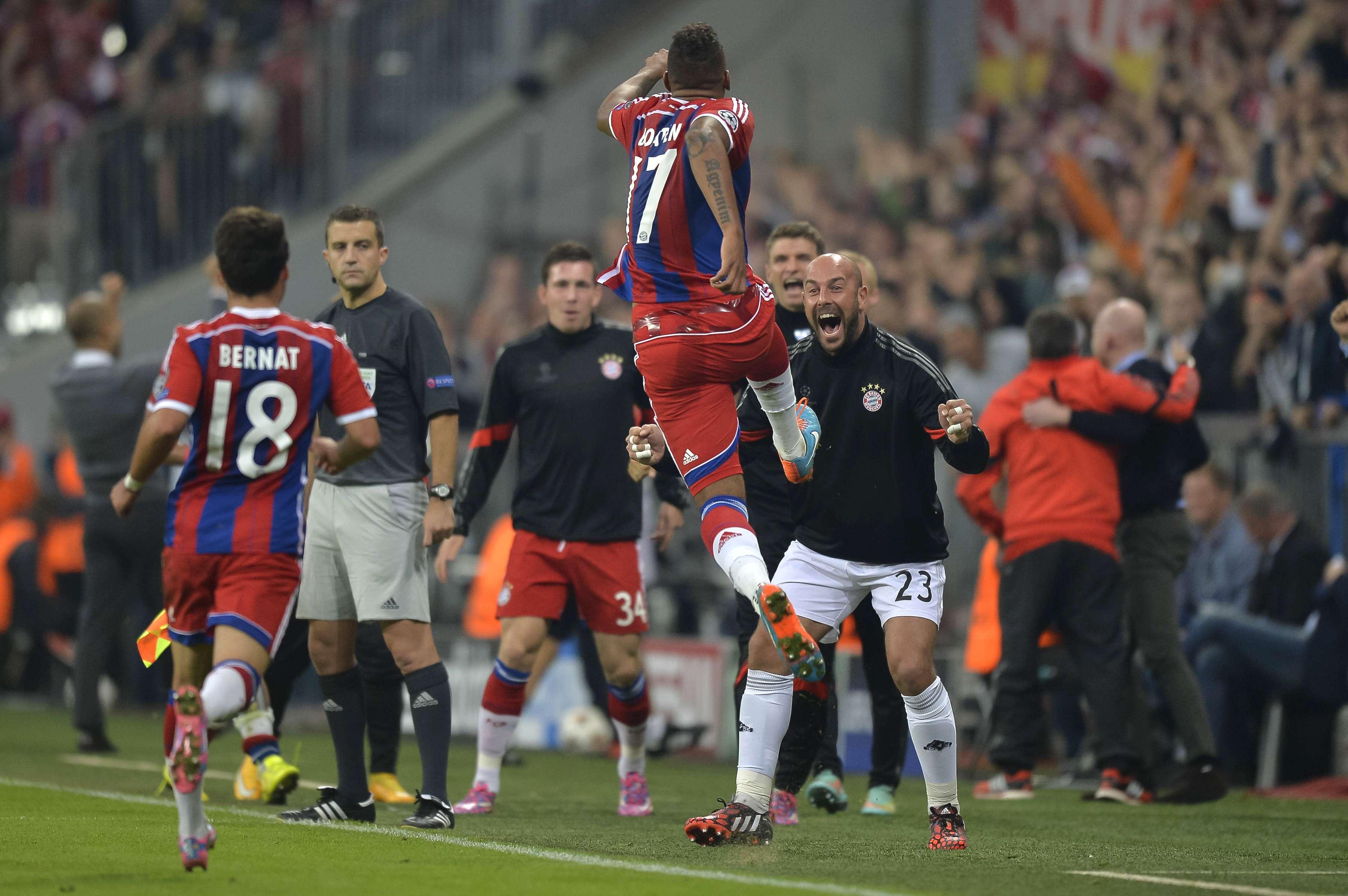El Bayern anotó en el minuto 90 el único gol. Foto: AFP en español