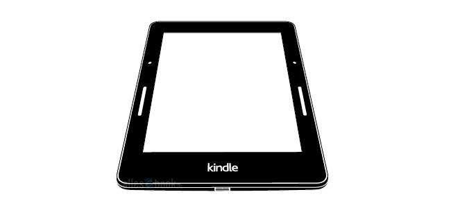 """Kindle Voyage teria um sensor para virar páginas, pressionando levemente sobre o painel, ao lado de uma """"iluminação frontal inteligente"""" Foto: Allesebook/Reprodução"""