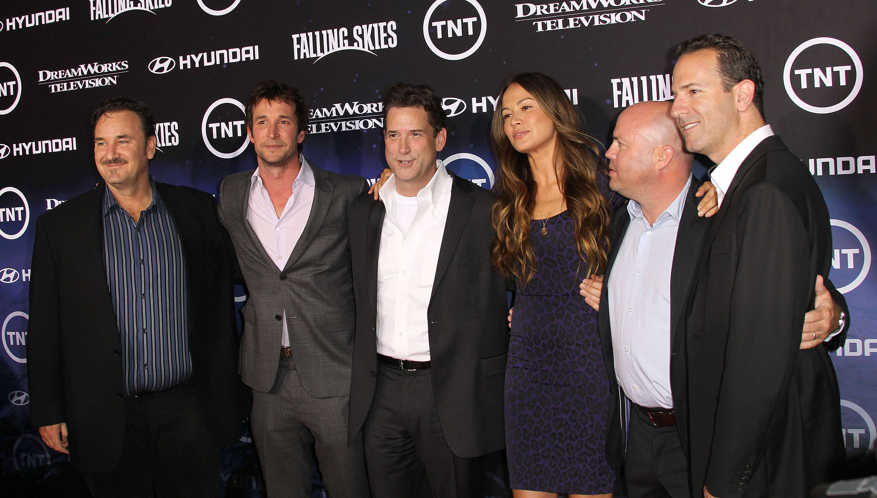 Elenco de 'Falling Skies' Foto: Frederick M. Brown/Getty Images