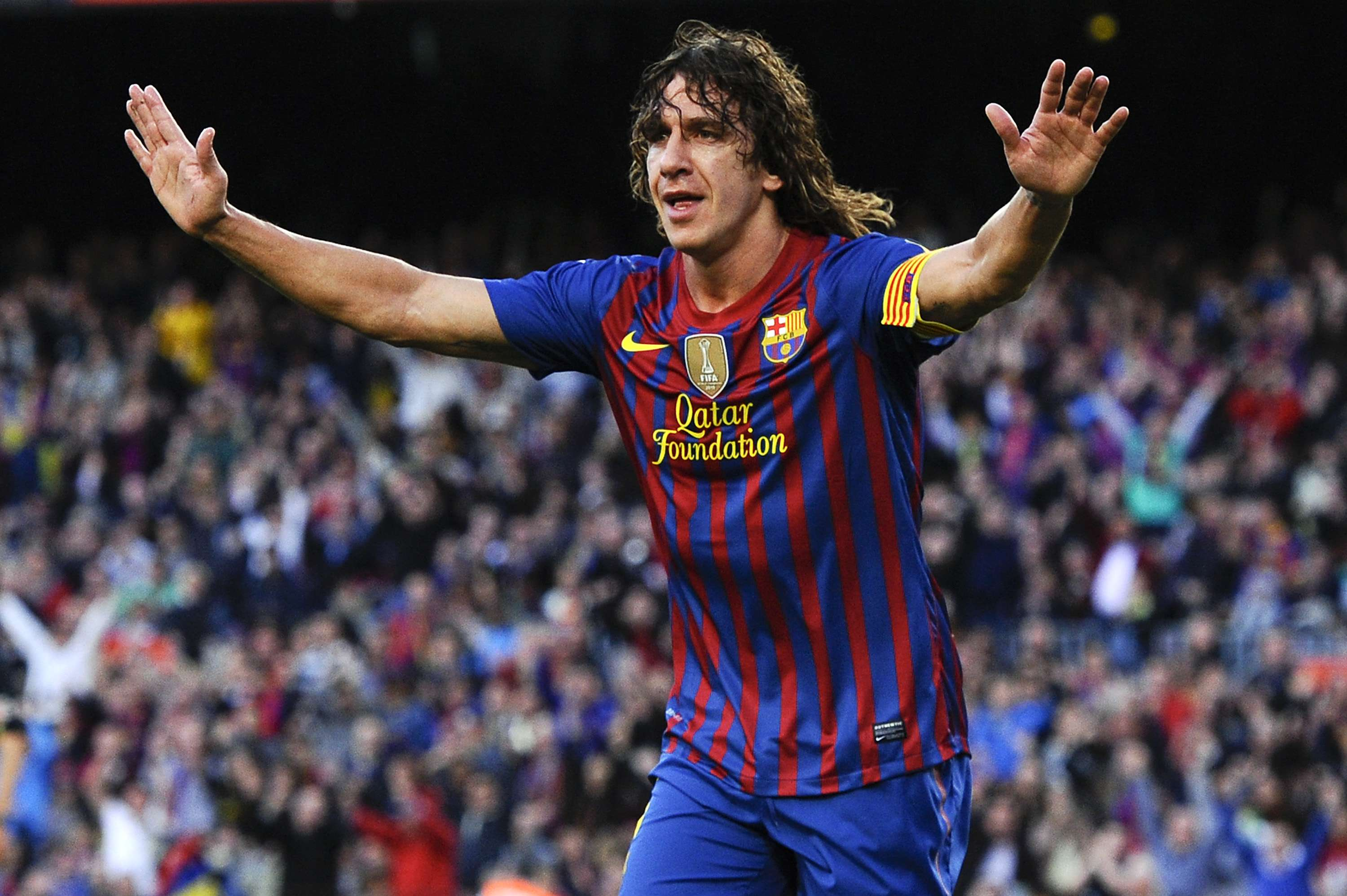 Carles Puyol: 'El Tiburon' represented Barcelona in European competition 120 times. Foto: Getty Images