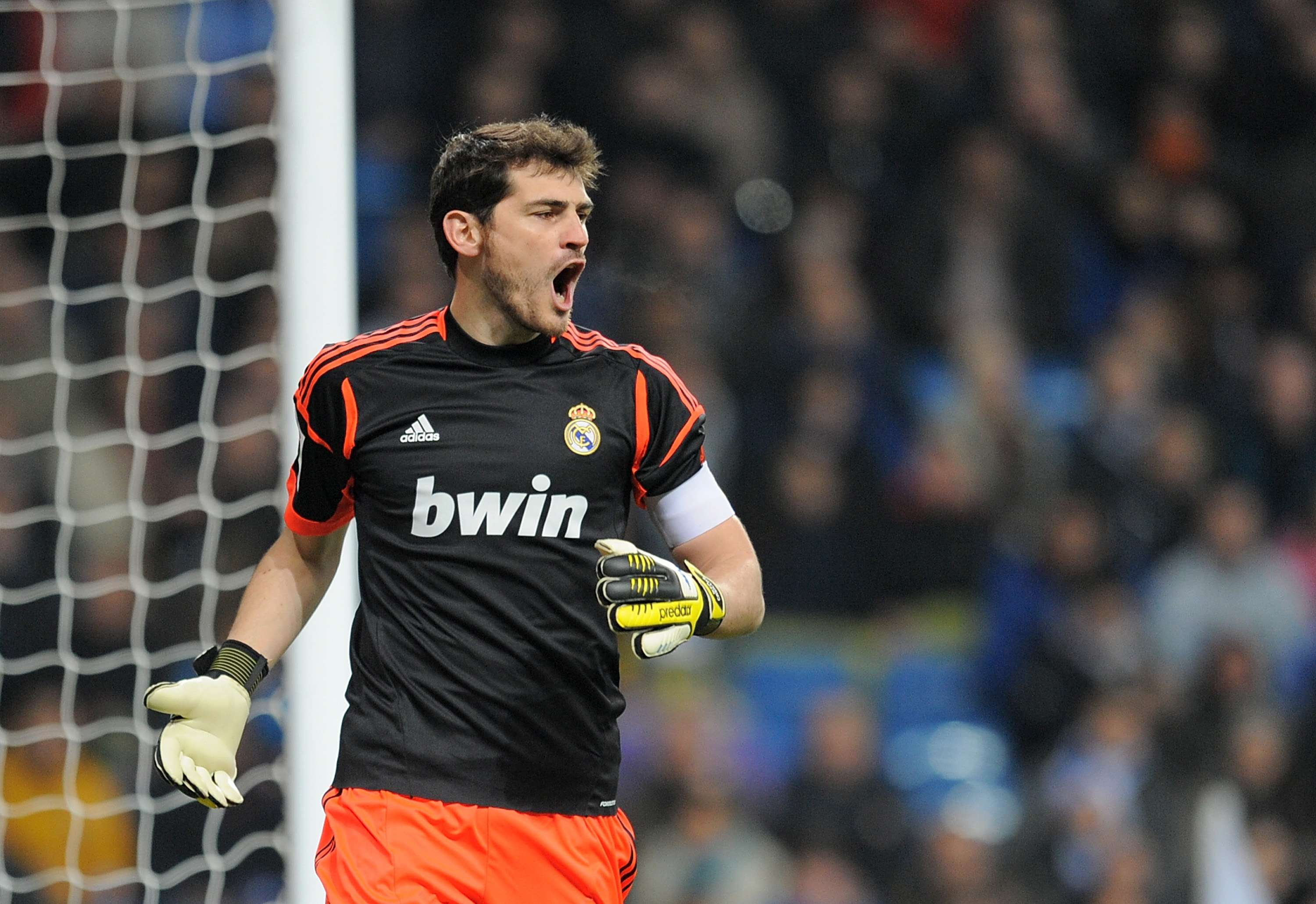 Iker Casillas: The Real Madrid captain has appeared in European Competition in 144 games. Foto: Getty Images