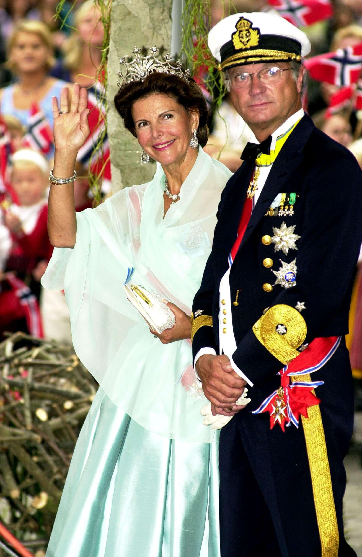 Los reyes de Suecia., en una imagen de archivo Foto: Getty