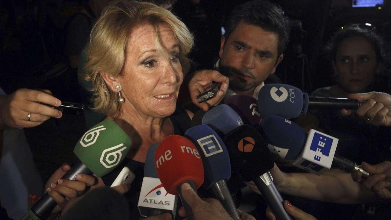 Esperanza Aguirre. Foto: EFE