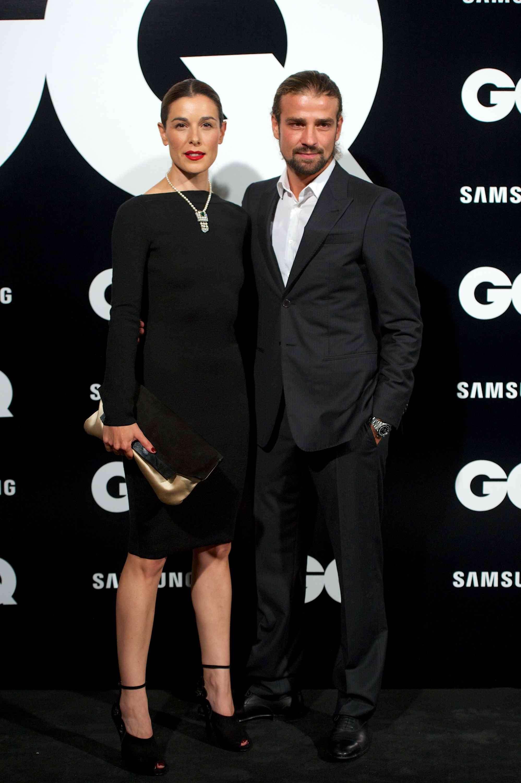 Raquel Sánchez Silva junto a Mario Biondo. Foto: GETTY