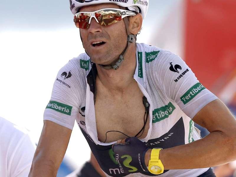 Alejandro Valverde. Foto: EFE