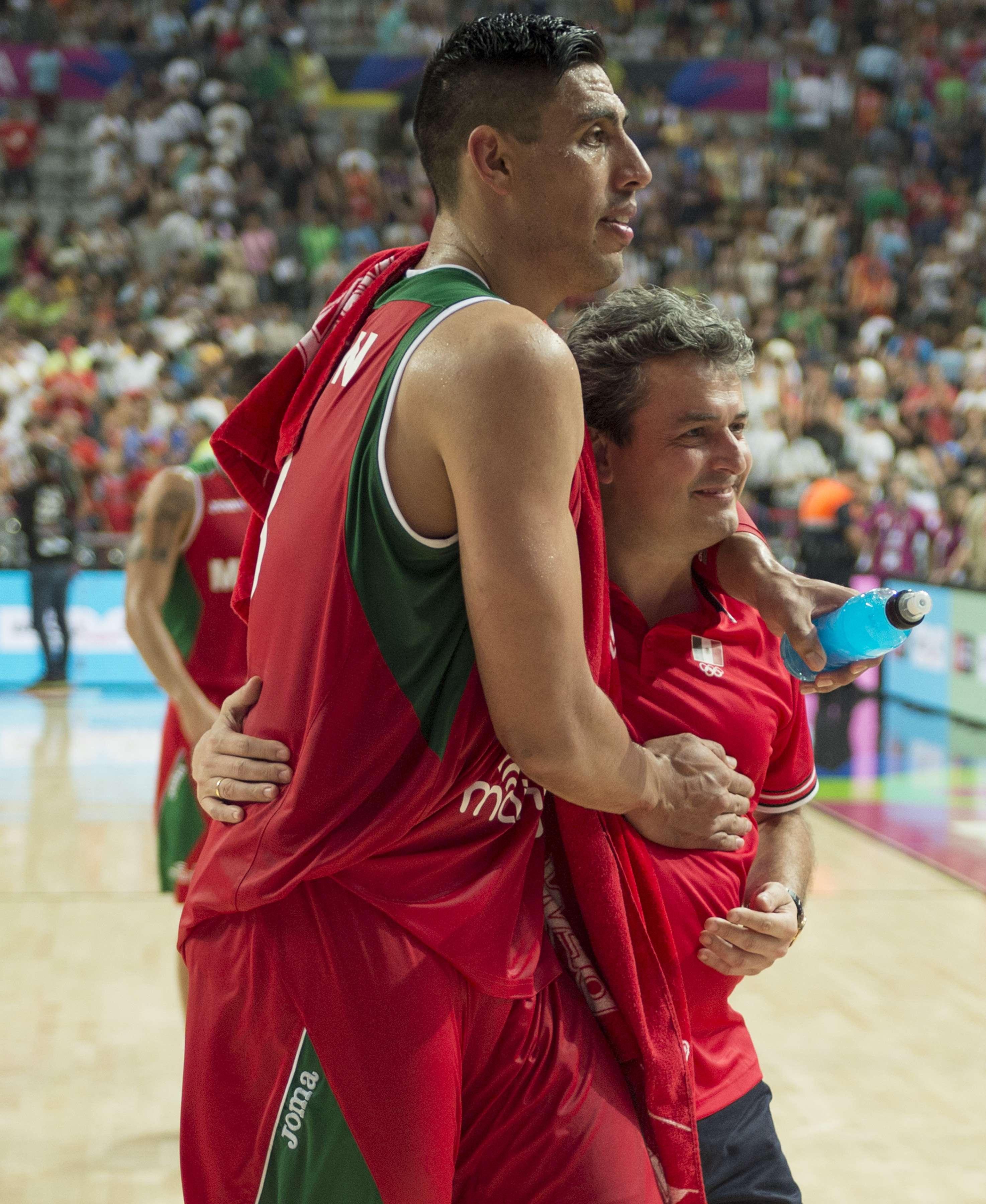 Gistavo Ayón fue el líderl del equipo mexicano en el Mundial de Basquetbol. Foto: Mexsport
