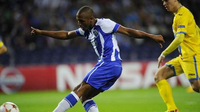 """El Porto goleó 6-0 al Maribor en el estreno de los dos equipos en la temporada 2014-15 de la UEFA Champions League; el argelino Yacine Brahimi marcó tres tantos de los """"Dragones"""". Foto: Getty Images /AFP"""
