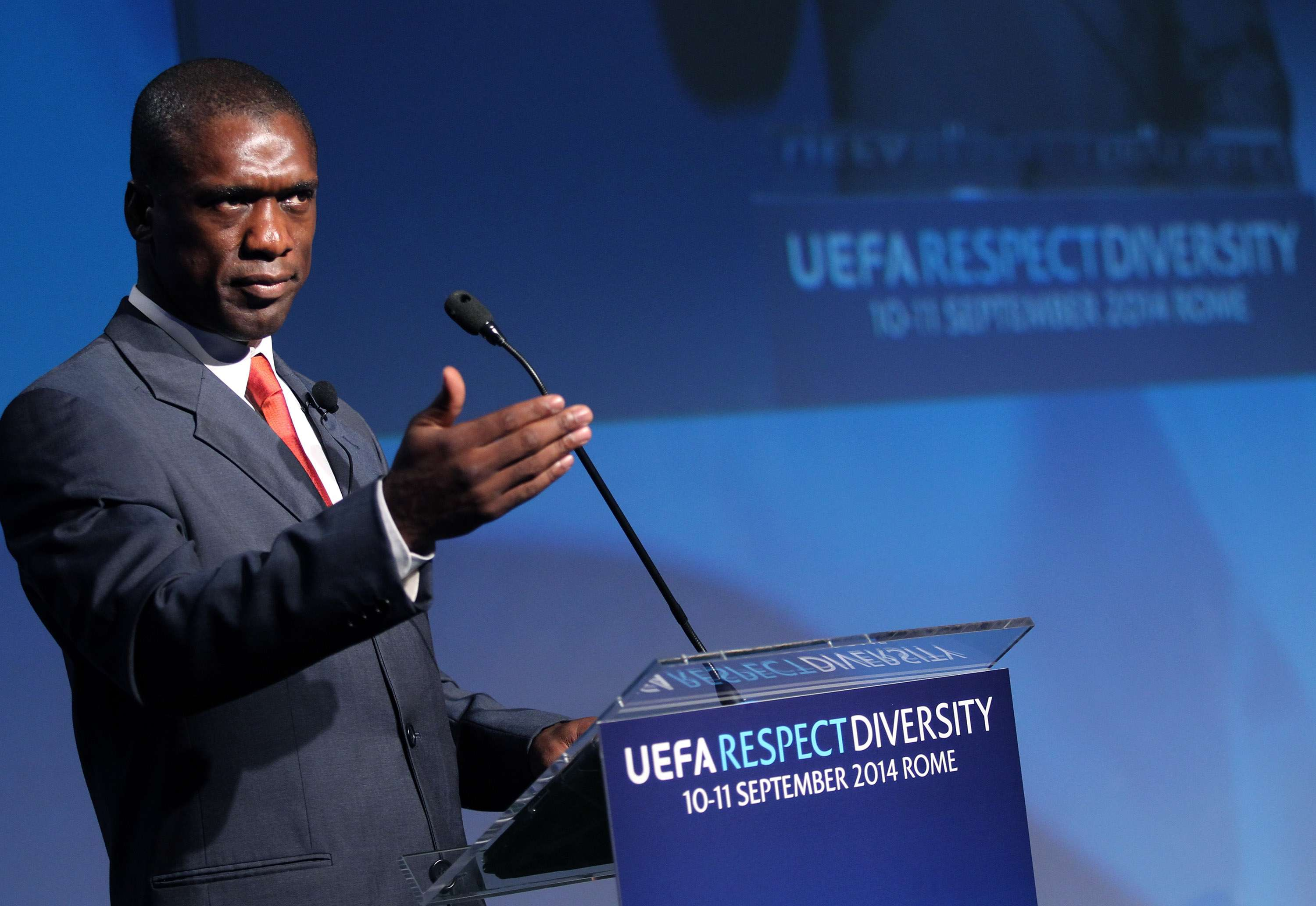 Clarence Seedorf. Foto: Getty Images
